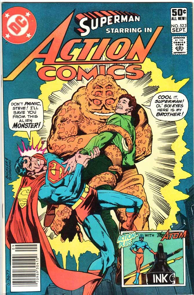 Action Comics (1938) #523 MJ