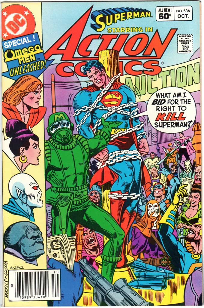 Action Comics (1938) #536 MJ