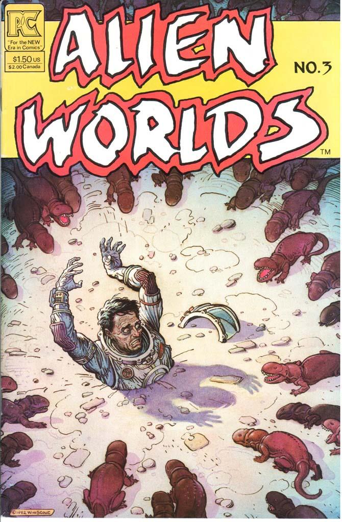 Alien Worlds (1982) #3