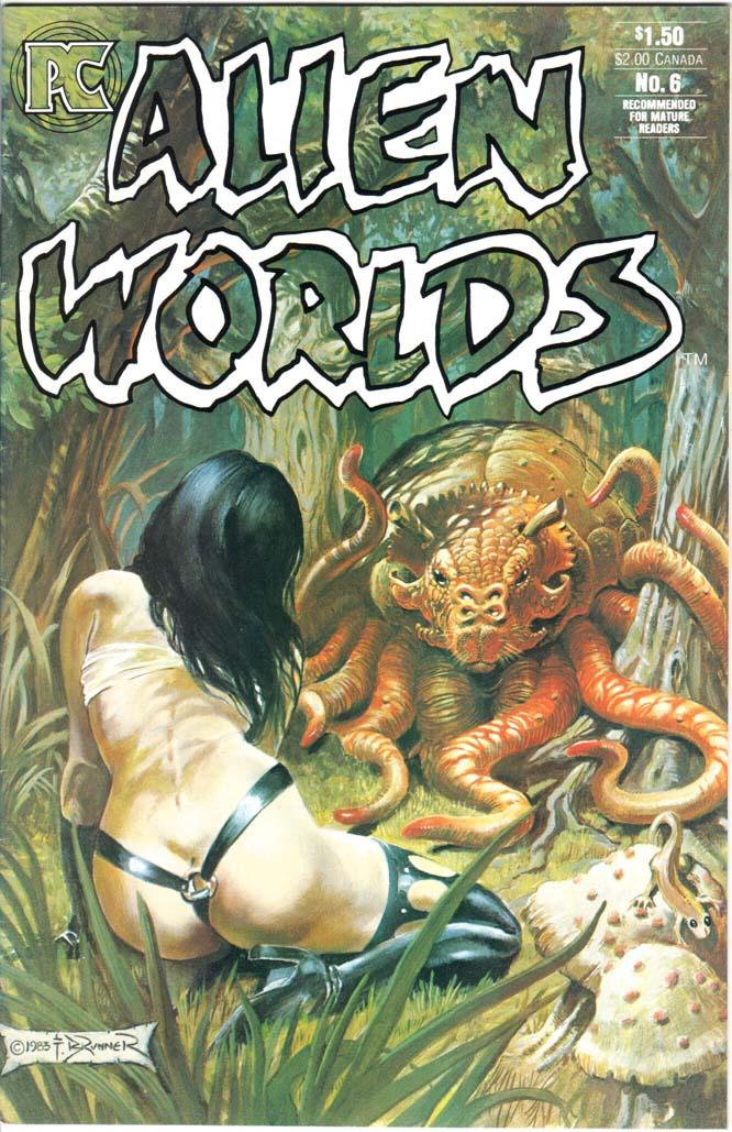 Alien Worlds (1982) #6