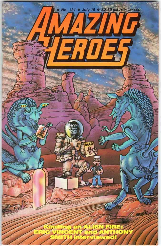 Amazing Heroes (1981) #121
