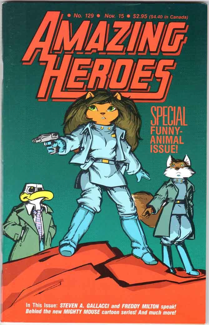 Amazing Heroes (1981) #129