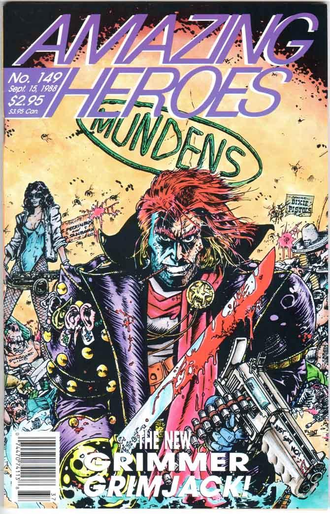 Amazing Heroes (1981) #149