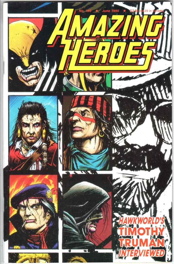 Amazing Heroes (1981) #180