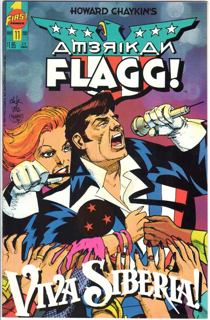 American Flagg (1988) #11