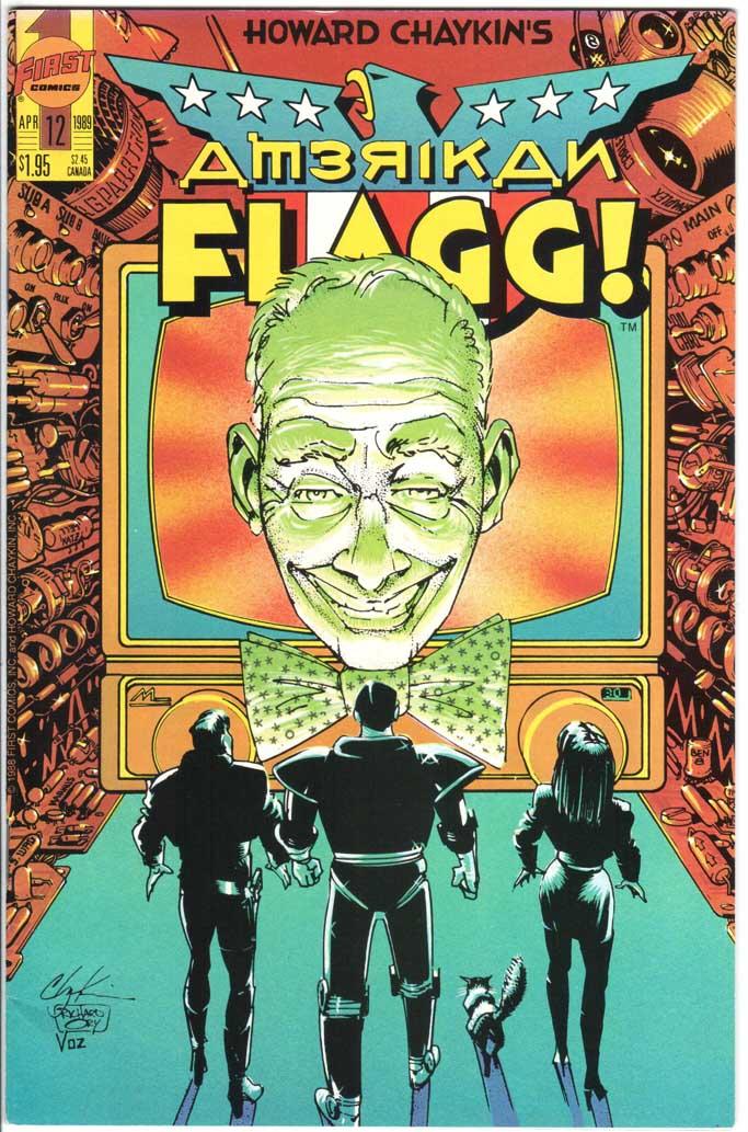American Flagg (1988) #12