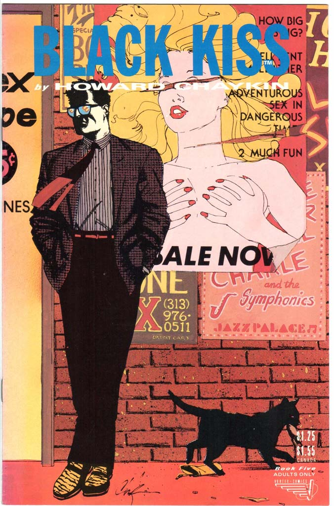 Black Kiss (1988) #5