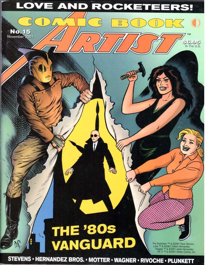 Comic Book Artist (1998) #15