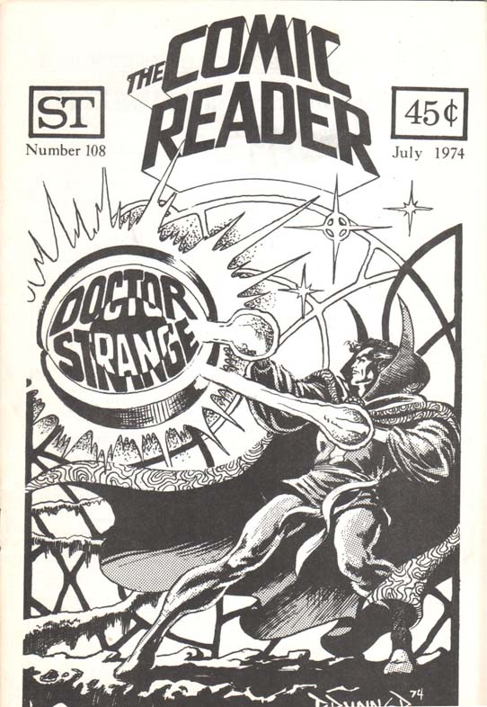 The Comic Reader (1961) #108