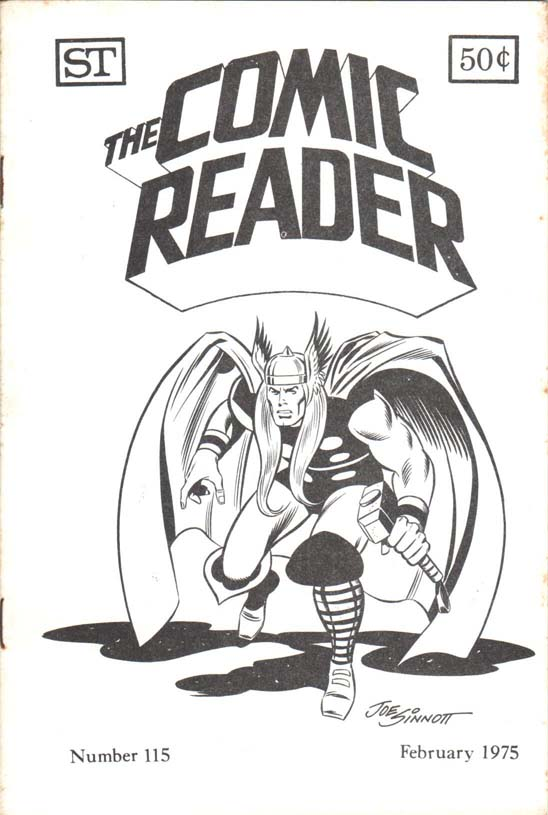 The Comic Reader (1961) #115