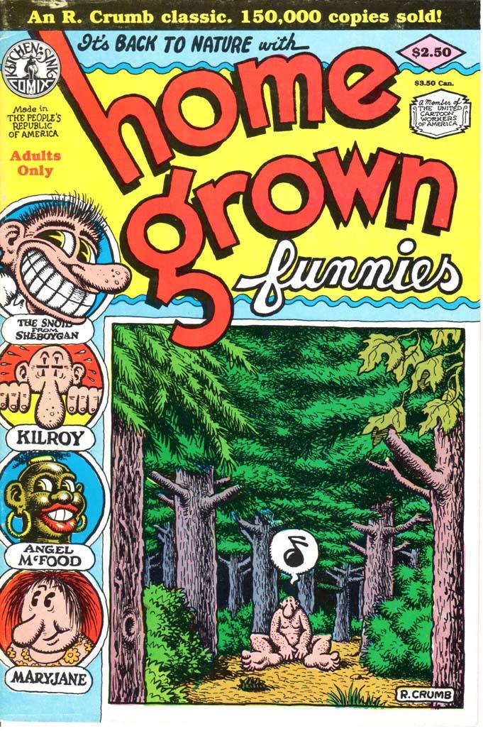 Home Grown Funnies (1971) #1