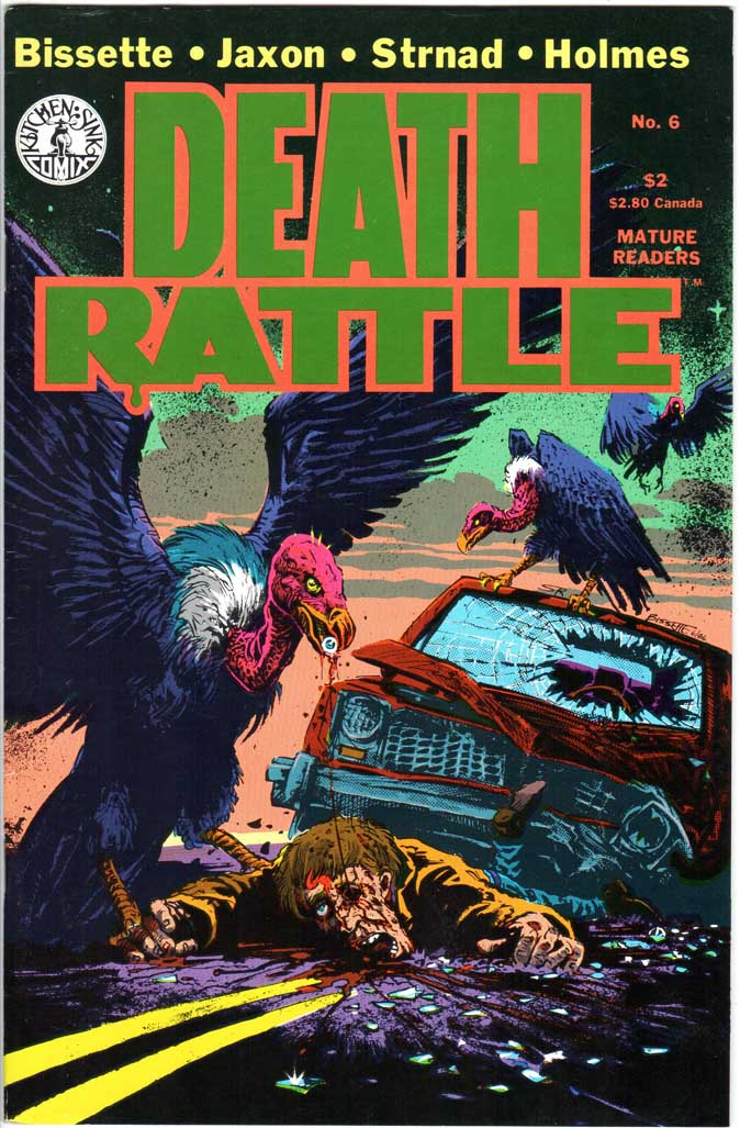 Death Rattle (1985) #6