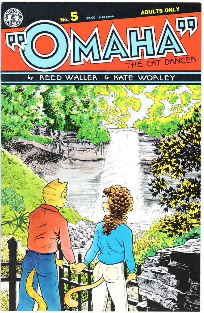 Omaha the Cat Dancer (1986) #5