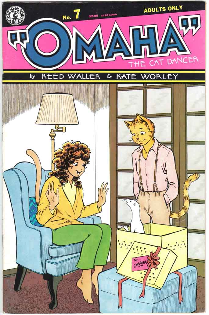 Omaha the Cat Dancer (1986 ) #7