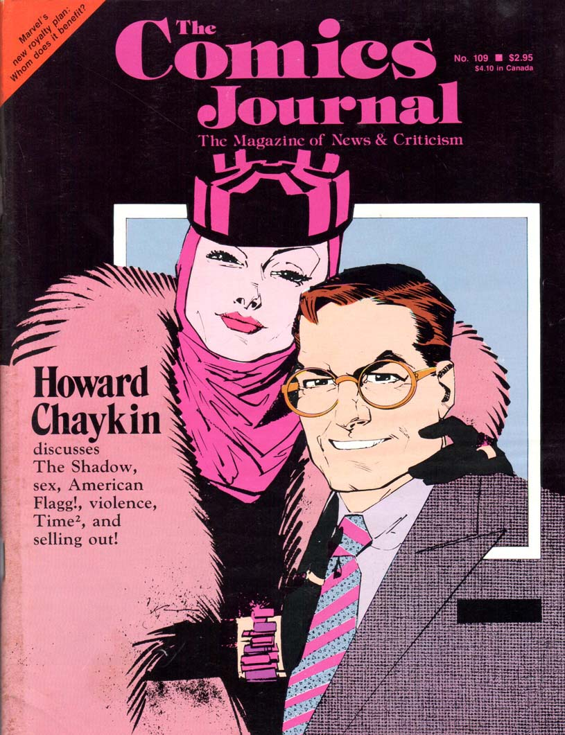 Comics Journal (1977) #109