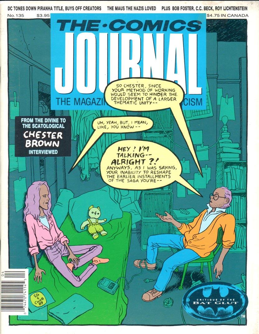 Comics Journal (1977) #135