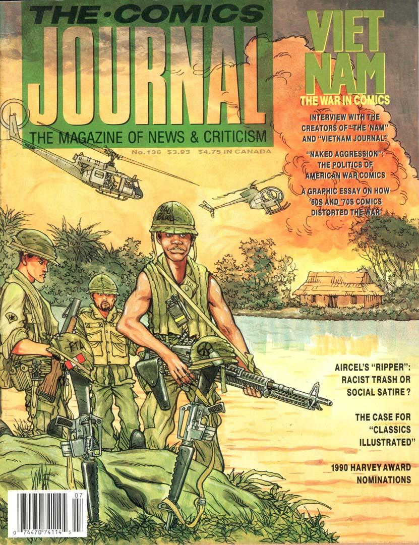 Comics Journal (1977) #136