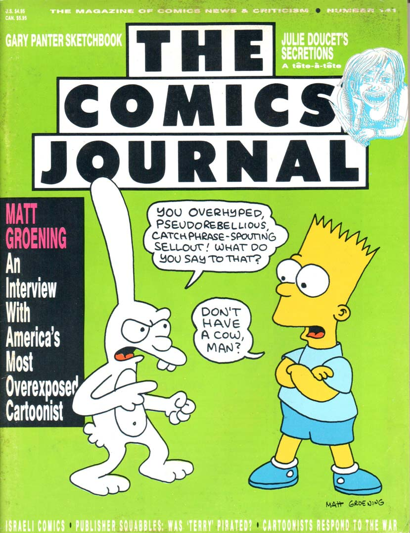 Comics Journal (1977) #141