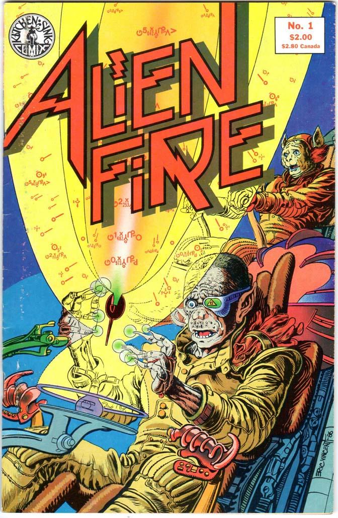Alien Fire (1987) #1