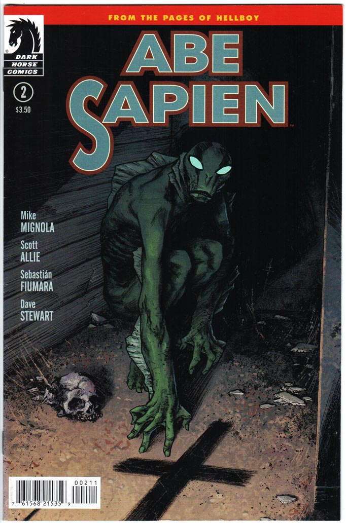 Abe Sapien (2013) #2