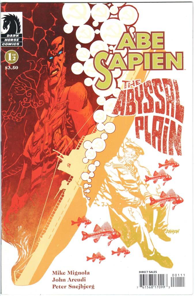 Abe Sapien: Abyssal Plain (2010) #1 – 2 (SET)