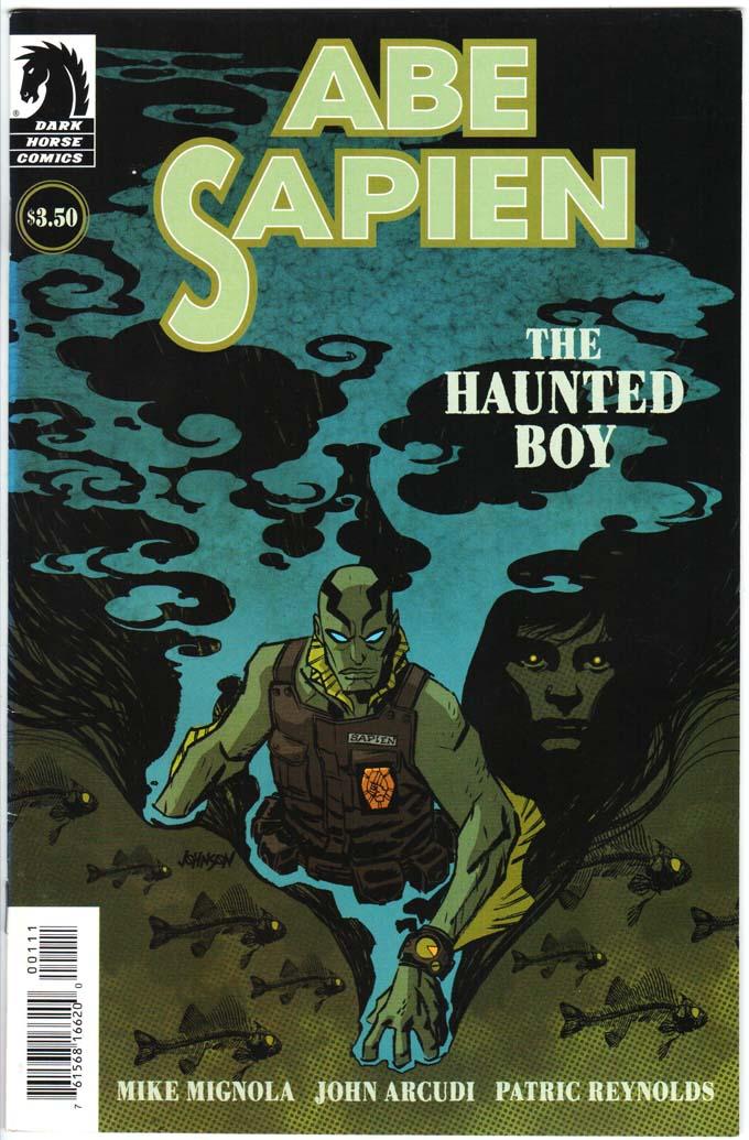 Abe Sapien: Haunted Boy (2009) #1