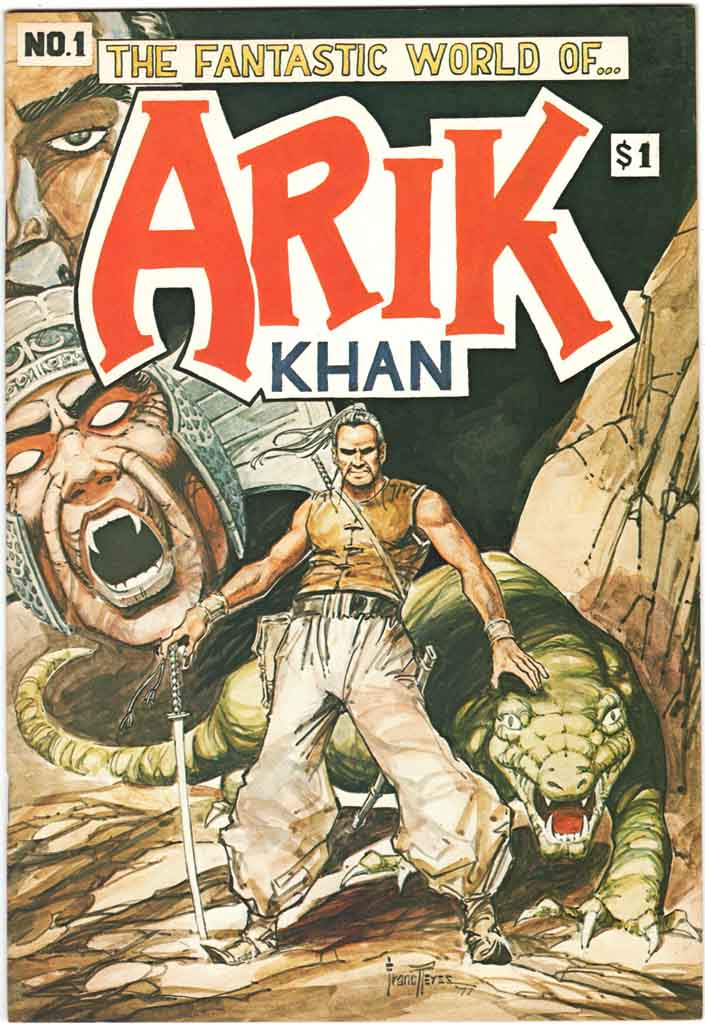 Arik Khan, The Fantastic World of (1978) #1