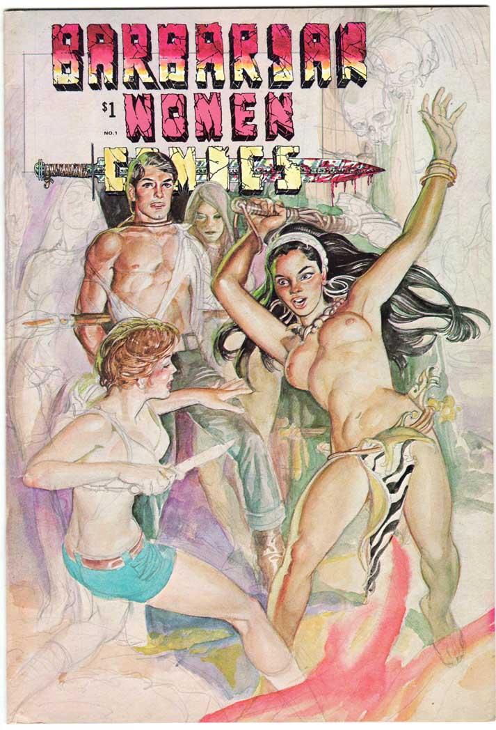 Barbarian Women Comics (1972) #1
