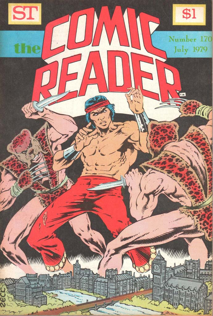 The Comic Reader (1961) #170