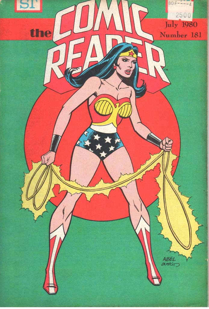 The Comic Reader (1961) #181