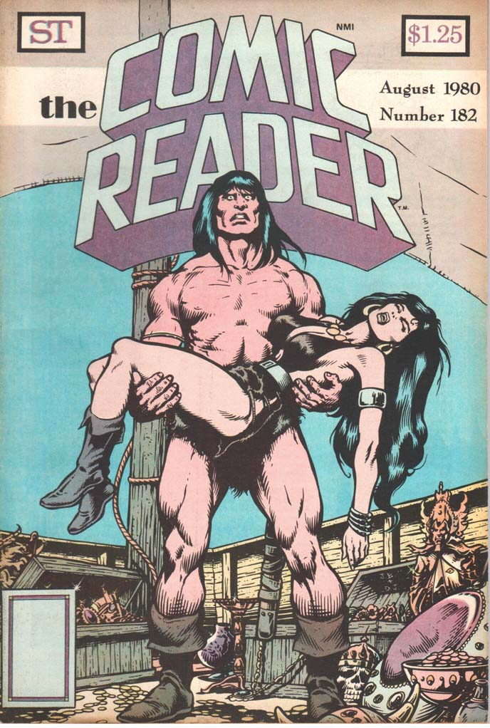 The Comic Reader (1961) #182