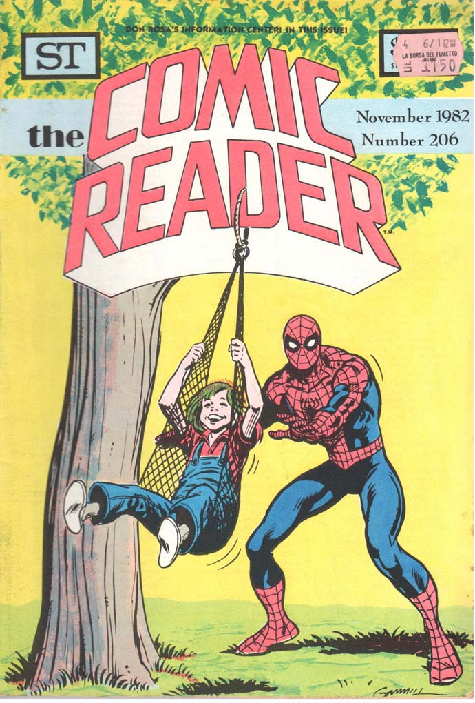 The Comic Reader (1961) #206