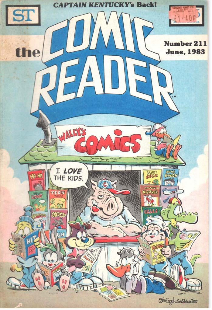 The Comic Reader (1961) #211