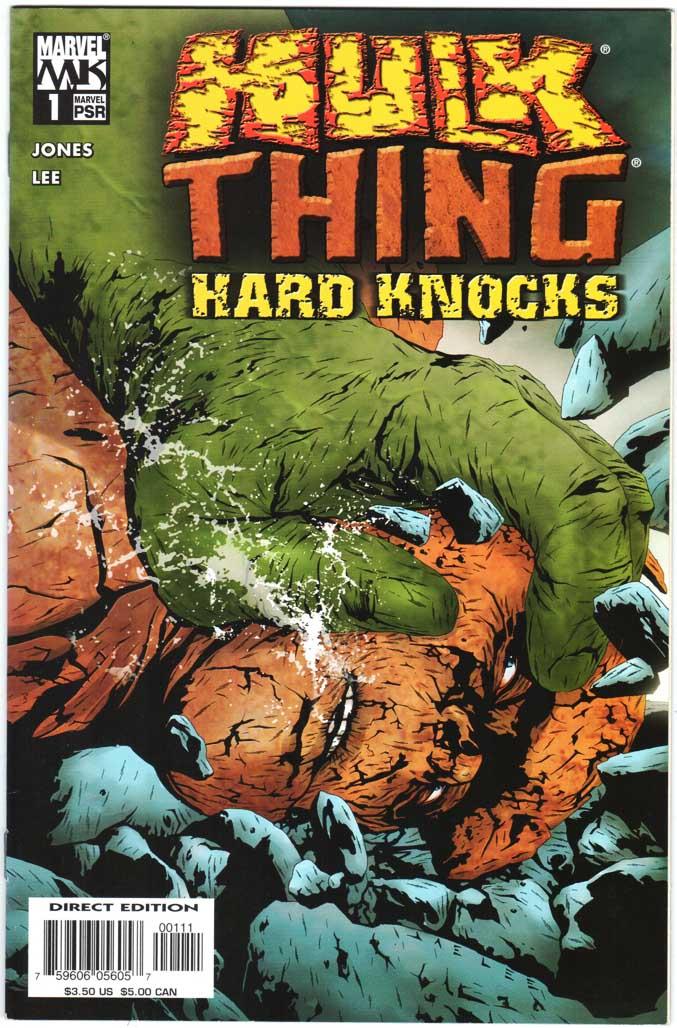 Hulk & Thing: Hard Knocks (2004) #1 – 4 (SET)