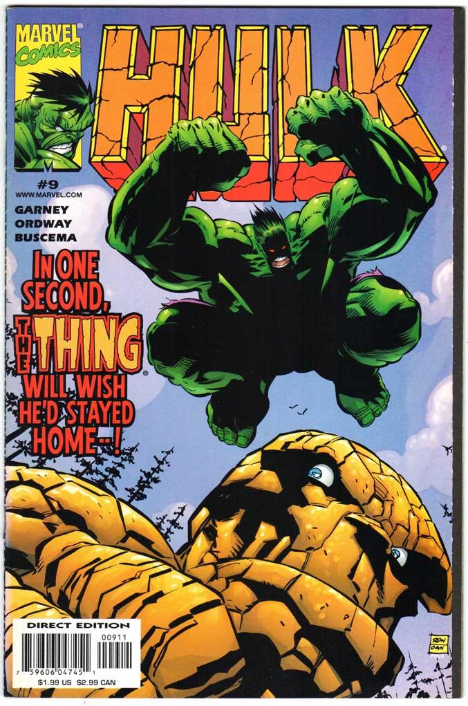Incredible Hulk (1999) #9