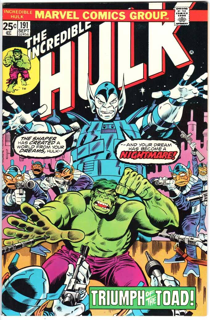 Incredible Hulk (1962) #191 MJ