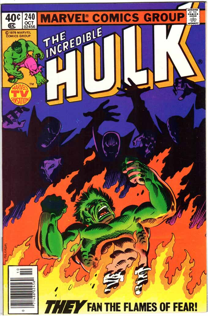 Incredible Hulk (1962) #240 MJ