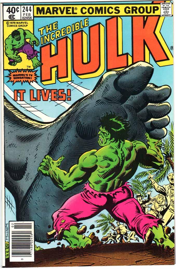 Incredible Hulk (1962) #244 MJ