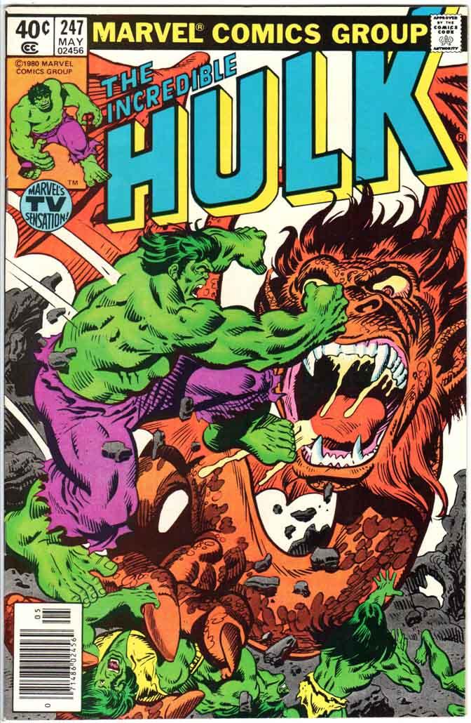 Incredible Hulk (1962) #247 MJ