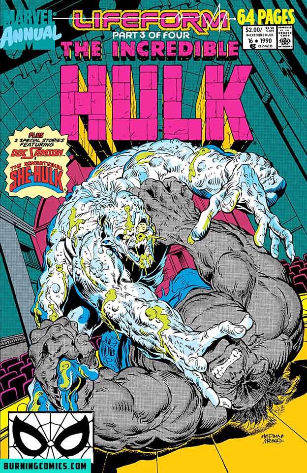 Incredible Hulk (1962) Annual #16
