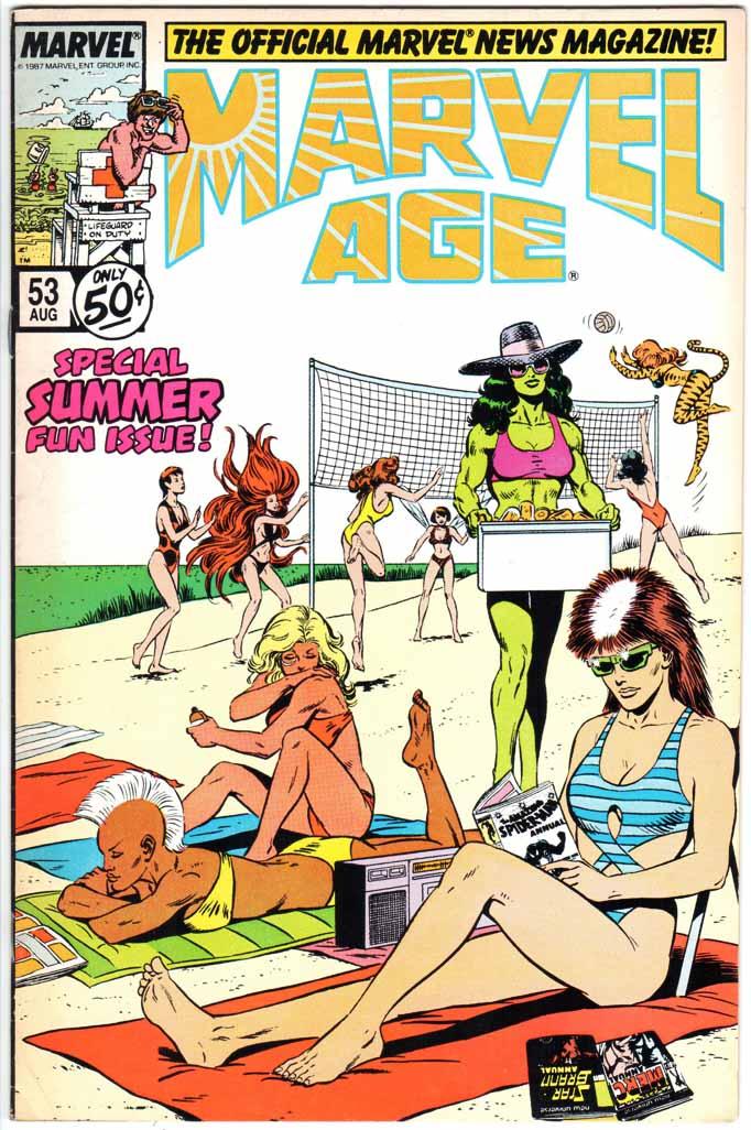 Marvel Age (1983) #53