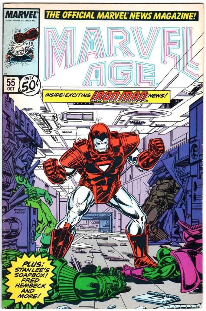 Marvel Age (1983) #55