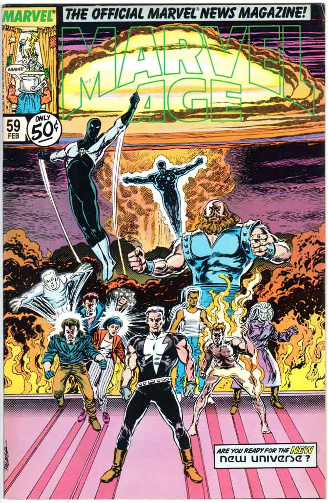 Marvel Age (1983) #59
