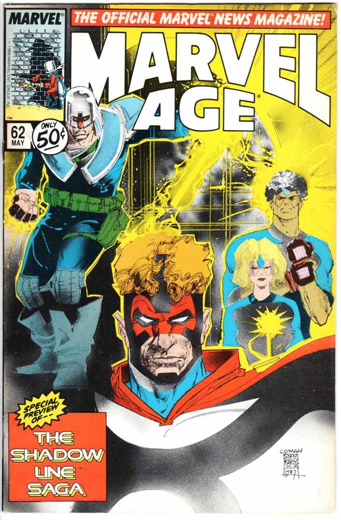 Marvel Age (1983) #62
