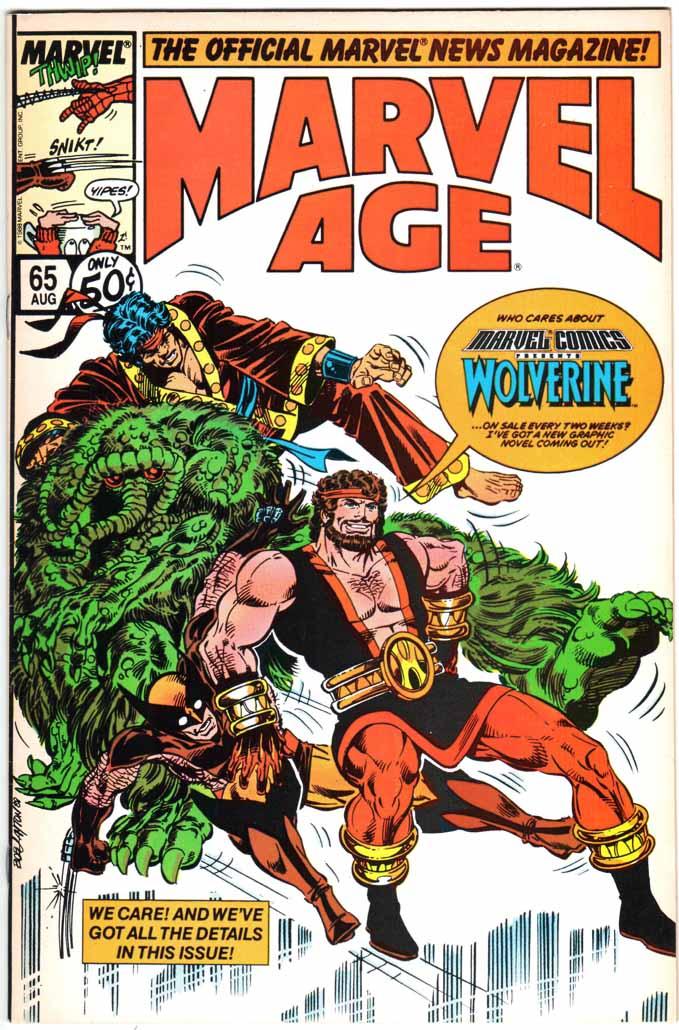 Marvel Age (1983) #65