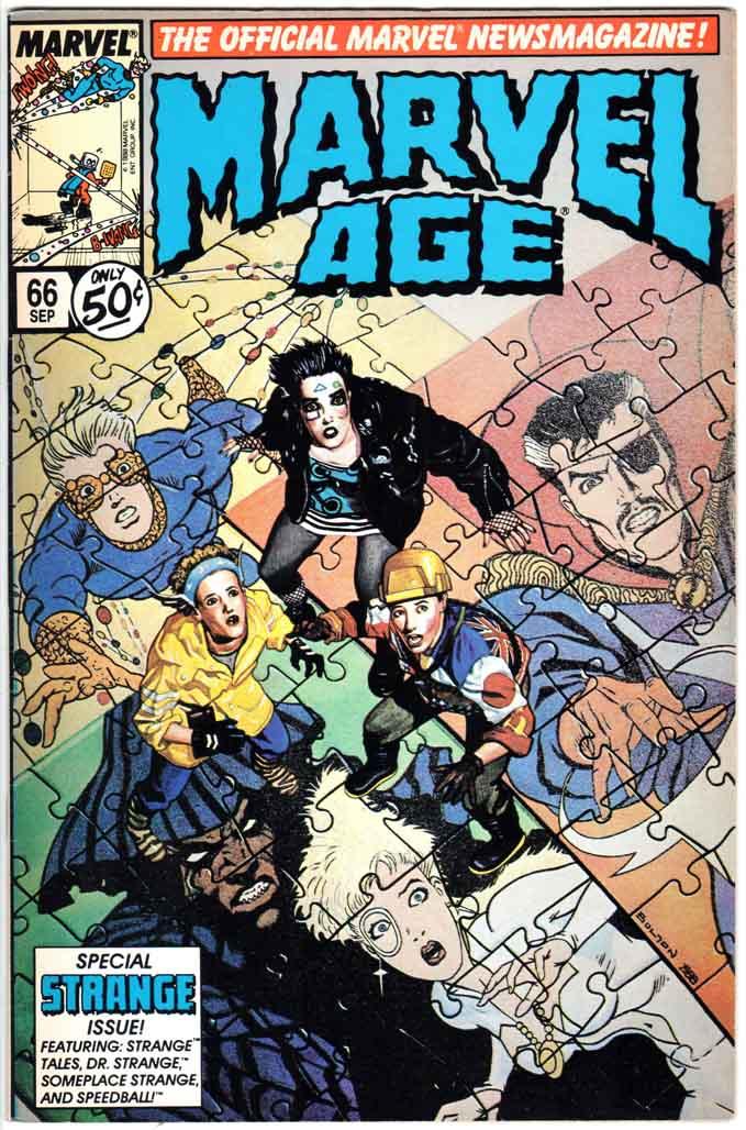 Marvel Age (1983) #66