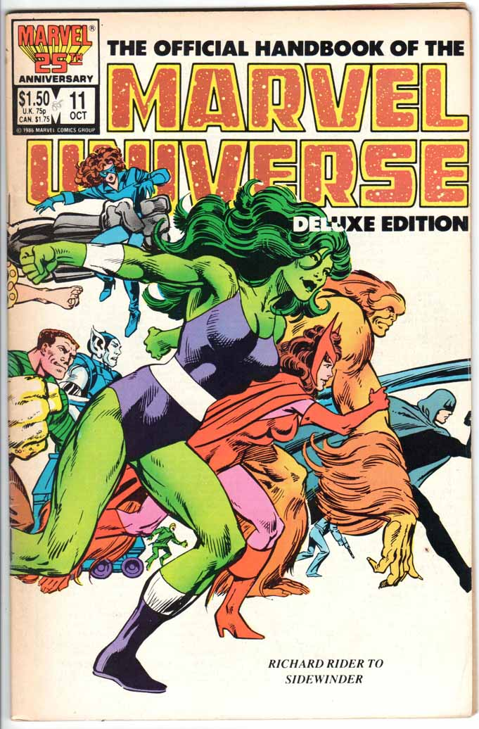 Official Handbook of the Marvel Universe Deluxe Edition (1985) #11