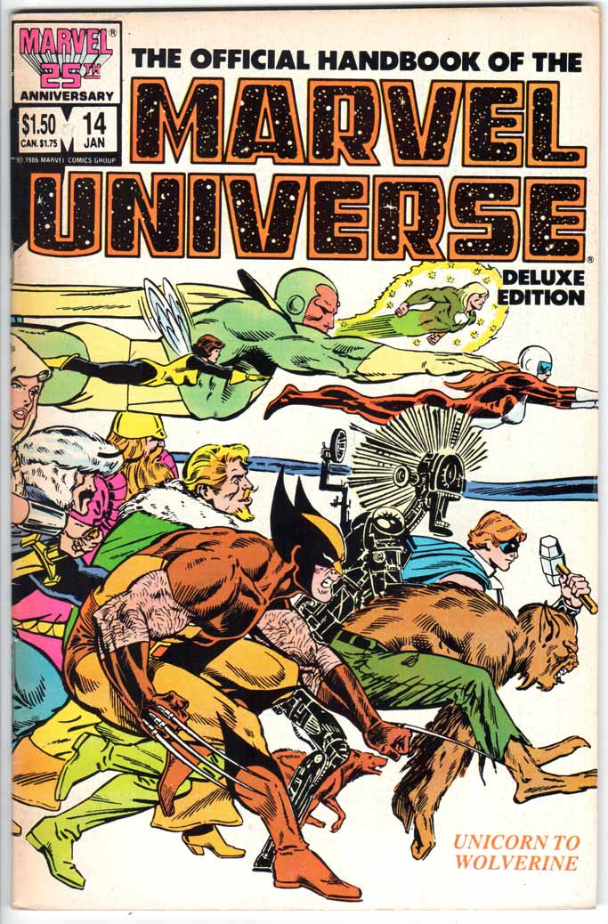 Official Handbook of the Marvel Universe Deluxe Edition (1985) #14