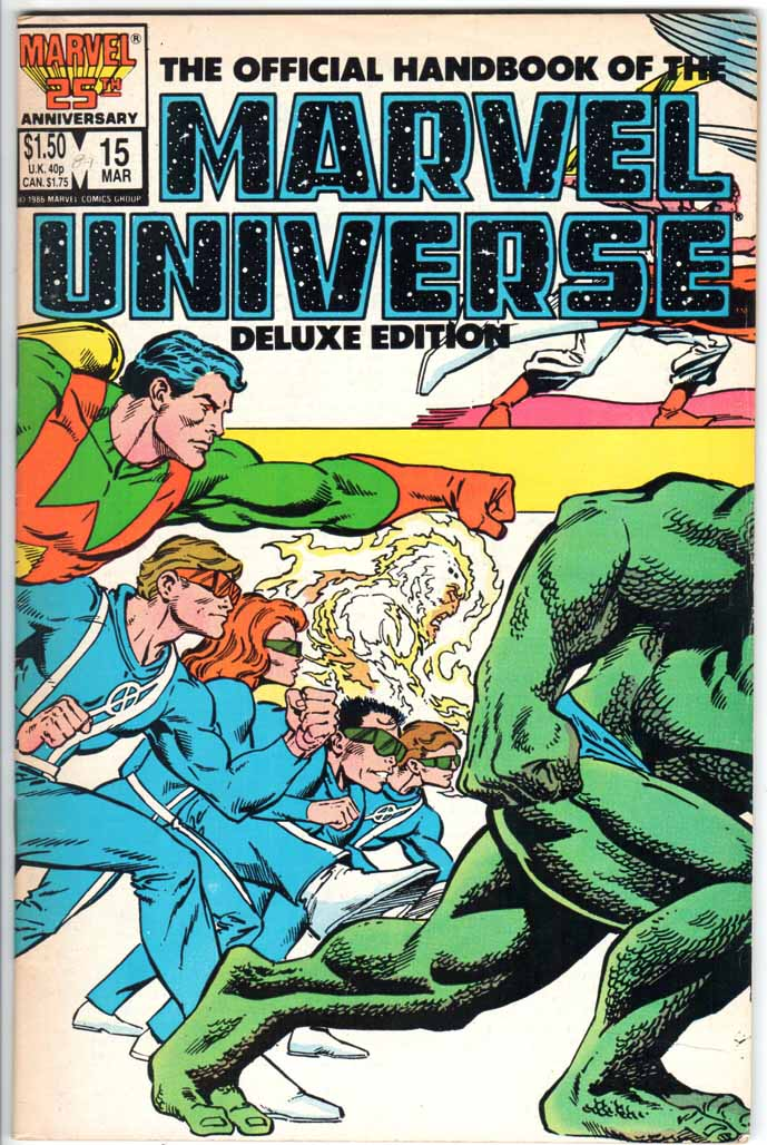 Official Handbook of the Marvel Universe Deluxe Edition (1985) #15