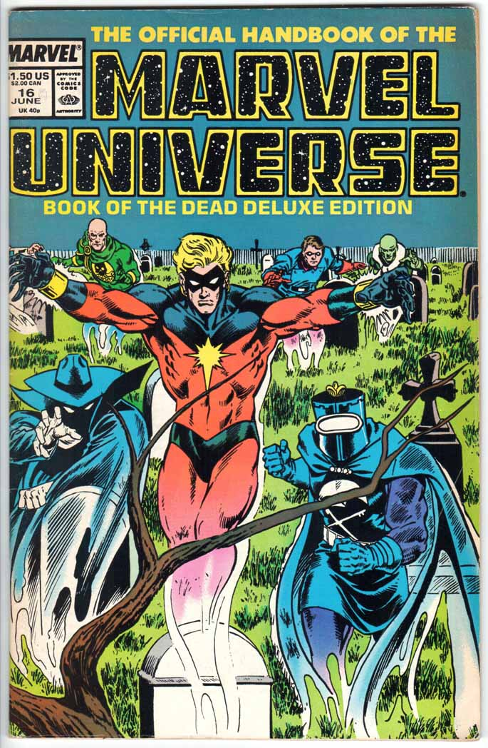Official Handbook of the Marvel Universe Deluxe Edition (1985) #16